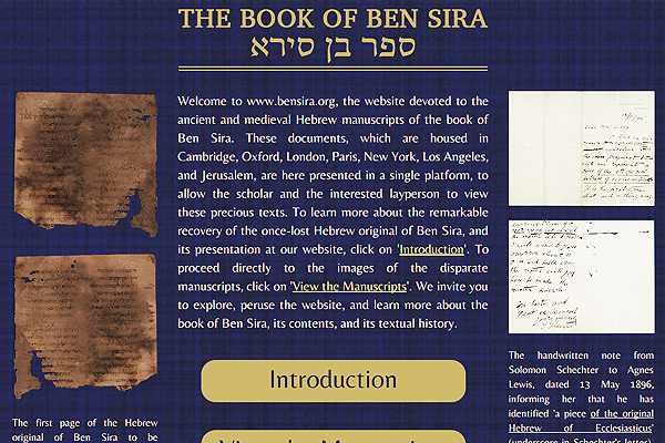 The Book of Ben Sira